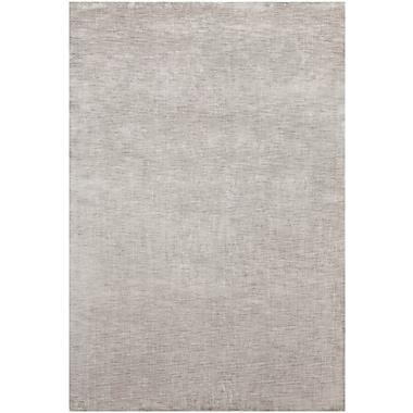 Orren Ellis Leet Solid Gray Area Rug; 5' x 7'6''