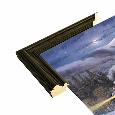 Loon Peak 'Union Pacific' Graphic Art Print; Black Wood Grande Framed Paper