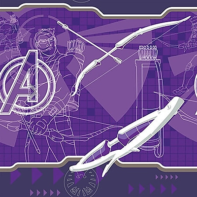iCanvas Marvel Comics Hawkeye's Bow Graphic Art on Canvas; 18'' H x 18'' W x 1.5'' D