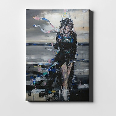 Ivy Bronx 'Lost In The Winds' Acrylic Painting Print on Canvas; 40'' H x 26'' W