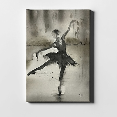 Ivy Bronx 'Without A Danseur' Acrylic Painting Print on Canvas; 40'' H x 26'' W