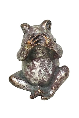 Jeco Inc. Cover Mouth Evil Frog Statue