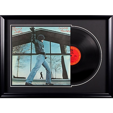 LuxeWest Billy Joe 'Glass Houses' Custom Framed Graphic Art Print