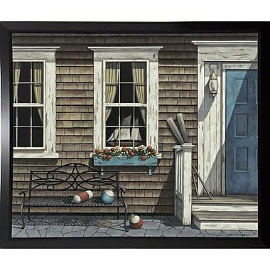 Breakwater Bay 'Nantucket' Graphic Art Print; Black Plastic Framed Paper