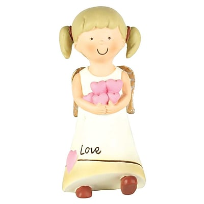 Winston Porter Brunette Angel Love Figurine