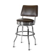 Richardson Seating Retro Home 24'' Swivel Bar Stool