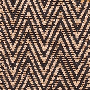 Brayden Studio Salley Hand-Woven Beige/Black Area Rug; 7'9'' x 10'6''