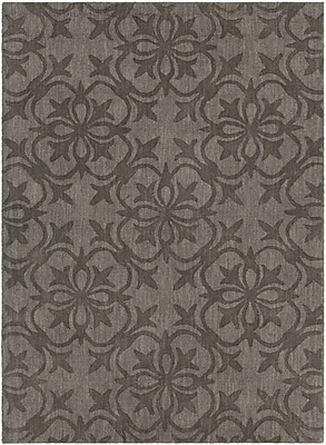 Darby Home Co Beazer Patterned Tranditional Taupe Area Rug; 5' x 7'