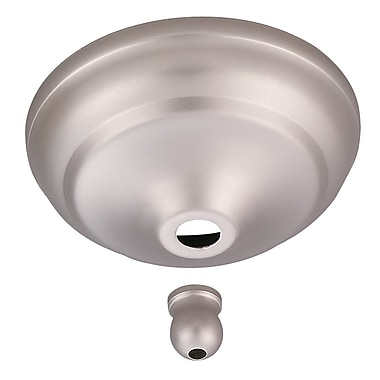 Darby Home Co Anais Bowl Cap Kit for Concealing Pull-Chain Controls; Brushed Pewter