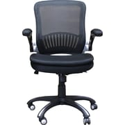 Ebern Designs Balanchine Mesh Office Chair; Black