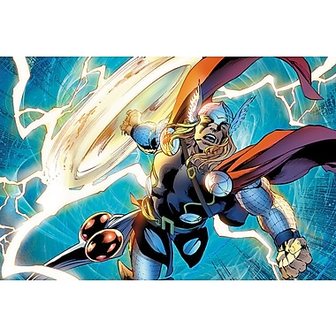 iCanvas 'Avengers Assemble Thor' by Marvel Comics Graphic Art on Wrapped Canvas