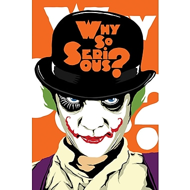 iCanvas 'A Clockwork Joker' by Butcher Billy Vintage Advertisement on Wrapped Canvas