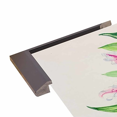 Winston Porter 'A Study Of Lilies' Print; Paper
