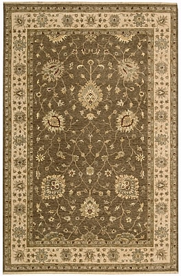 Darby Home Co Degory Chocolate Area Rug; 5'6'' x 8'6''