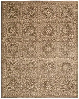 Darby Home Co Dickinson Taupe Area Rug; 7'9'' x 9'9''