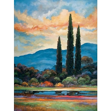 Fleur De Lis Living 'The Heart Of Provence' Graphic Art Print; Rolled Canvas