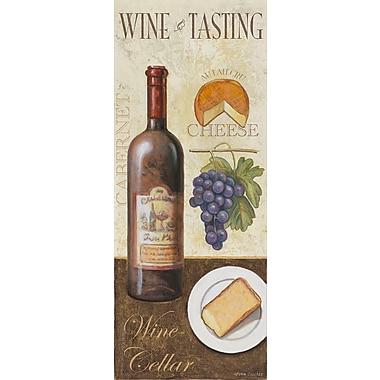 Fleur De Lis Living 'Wine And Cheese 1' Graphic Art Print; Paper