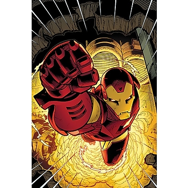 iCanvas 'Avengers Assemble Iron Man' by Marvel Comics Graphic Art on Wrapped Canvas