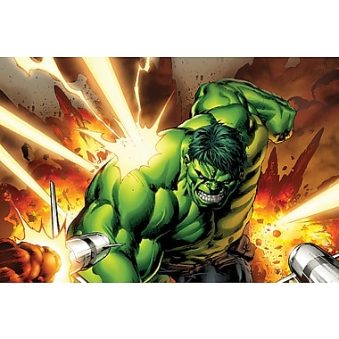 iCanvas 'Avengers Assemble Hulk Classic' by Marvel Comics Graphic Art on Wrapped Canvas