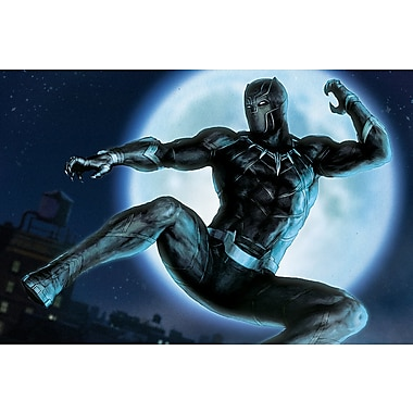 iCanvas 'Avengers Assemble Black Panther' by Marvel Comics Graphic Art on Wrapped Canvas