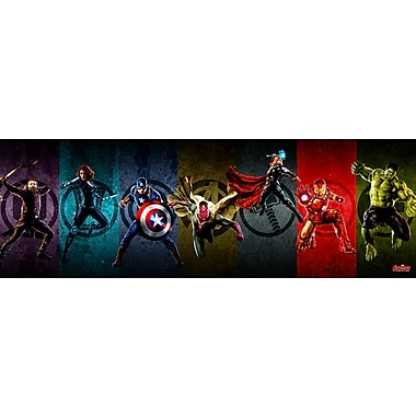 iCanvas 'Avengers Assemble Stylized Stance III' by Marvel Comics Graphic Art on Wrapped Canvas