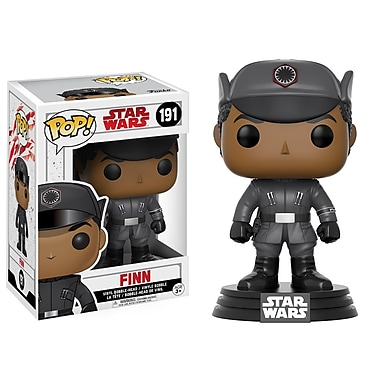 Funko Pop! Star Wars : Figurine Finn - The Last Jedi (FU14744)