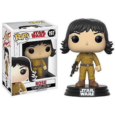 Funko Pop! Star Wars : Figurine Rose - The Last Jedi (FU14754)