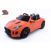 Kool Karz Jaguar F-Type Electric Ride On Toy Car, Orange