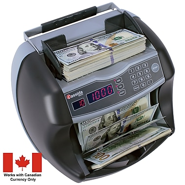 Cassida® 6600 Business-Grade Bill Counter with ValuCount™ and UV Detection (B-6600-CAD)
