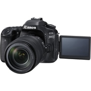 Canon EOS 80D 24.2 Megapixel Digital SLR Camera with Lens, 18 mm, 135 mm