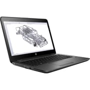 "HP ZBook 14u G4 14"" Touchscreen LCD Mobile Workstation, Intel Core i7 -7500U 2 Core 2.7 GHz, 8GB DDR4 SDRAM, 256GB SSD"