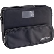 "Devicewear Essential Carrying Case for 11"" Business Card, Accessories, Notebook, Cable, ID Card, Power Adapter, Black"