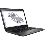 "HP ZBook 14u G4 14"" LCD Mobile Workstation, Intel Core i5 -7200U Dual-core (2 Core) 2.50 GHz, 8 GB DDR4 SDRAM, 256 GB SSD"