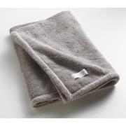 One Allium Way Orchard Ultra Absorbent Bath Sheet; Gray