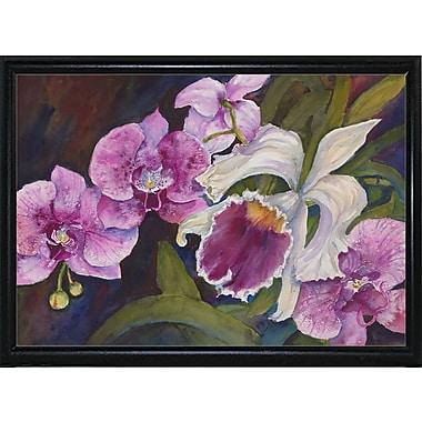 Winston Porter 'Orchid' Print; Paper