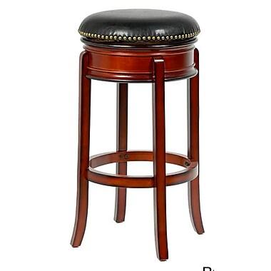 Mintra Bristol 24'' Swivel Bar Stool; Brown