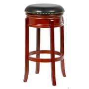 Mintra Bristol 24'' Swivel Bar Stool; Cherry