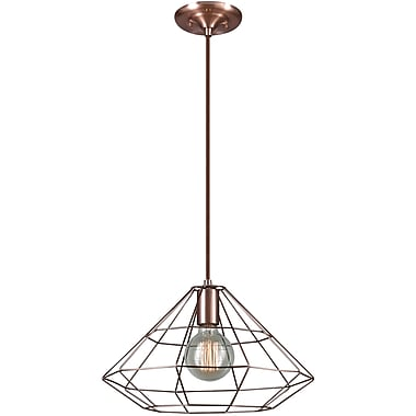 Novogratz x Globe Electric Mahek 1-Light Geometric Pendant