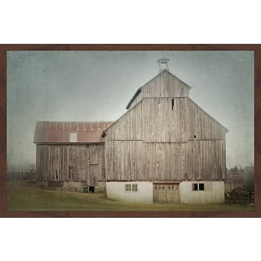 Gracie Oaks 'Ancienne Grange' Framed Photographic Print On Paper; 20'' H x 30'' W