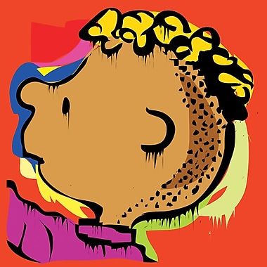 iCanvas 'The Peanuts Crew's Franklin' Graphic Art on Wrapped Canvas; 37'' H x 37'' W x 1.5'' D