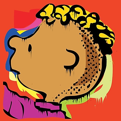 iCanvas 'The Peanuts Crew's Franklin' Graphic Art on Wrapped Canvas; 26'' H x 26'' W x 0.75'' D