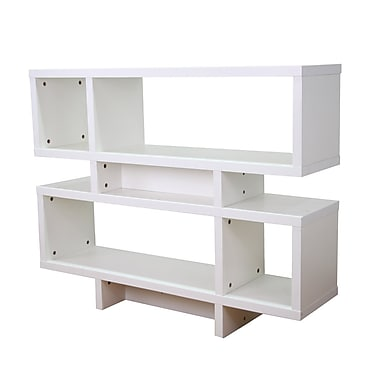 Mintra Wooden 36'' Accent Shelves