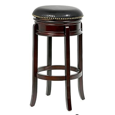 Mintra Bristol 24'' Swivel Bar Stool; Cappuccino