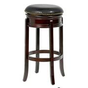 Mintra Bristol 24'' Swivel Bar Stool; Cappuccino