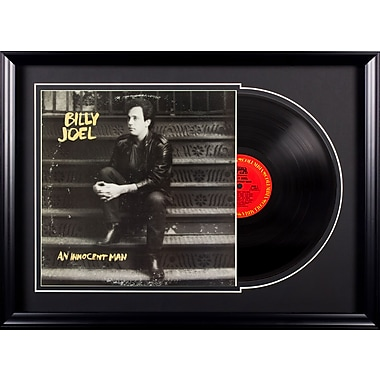 LuxeWest Billy Joel 'An Innocent Man' Custom Framed Graphic Art Print