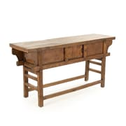 Loon Peak Antique Noodle Dining Table