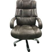 Loon Peak Heldt Heavy Duty Executive Desk Chair; Ash