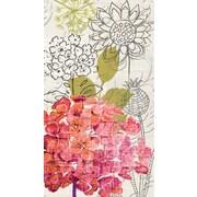 Winston Porter Sketch Floral Embossed Paper Guest Towel (Set of 15)