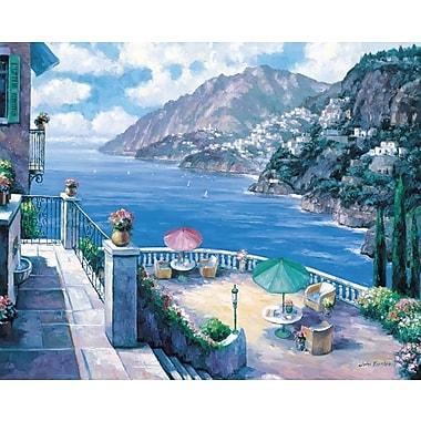 Fleur De Lis Living 'The Amalfi Coast' Graphic Art Print; Paper