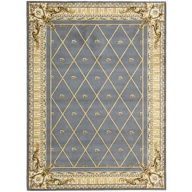 Astoria Grand Payzley Wool Blue Area Rug